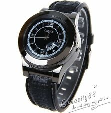 Mens USB Electronic Rechargeable Battery Flameless Cigarette Lighter Wrist Watch