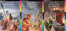 J. R. R. Tolkien - Le Seigneur des Anneaux - 3 Tomes