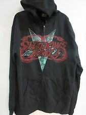 NEW - SHADOWS FALL CONCERT MUSIC BAND ZIP UP HOODIE SWEATSHIRT LARGE