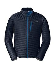 NEW Eddie Bauer Mens First Ascent MicroTherm StormDown Jacket, L, Navy