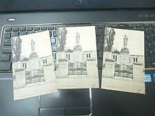 vintage postcard ALLOA    TRIO OF   WAR MEMORIAL