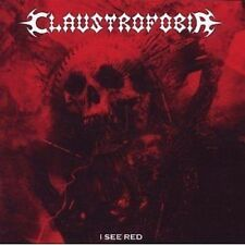 Claustrofobia I See Red CD NEW SEALED 2009 Brazil Death/Thrash Metal