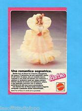 TOP985-PUBBLICITA'/ADVERTISING-1985- MATTEL BARBIE - FIOR DI PESCA