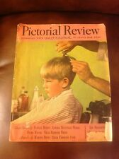 "Rare The Last Copy Of Pictorial Review  Women's Magazine ,March 1939 "" Look""."