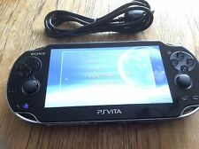 SONY PS VITA CONSOLE WIFI ONLY PCH-1004 PLAYSTATION PSVITA OLED WI-FI GOOD 3.35