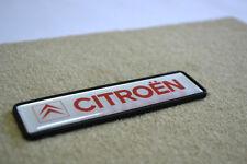 Citroen Logo Emblema Enseña de Alfombrillas Carmats Auto 3D Effect Emblem
