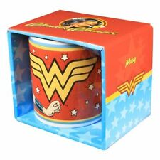 DC COMICS - WONDER WOMAN VINTAGE MUG IN GIFT BOX - BRAND NEW GREAT GIFT