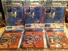 """NEW STAR WARS HALLMARK PARTY FAVORS FOR  TREAT BOXES  24 PIECES """"FREE SHIPPING"""""""
