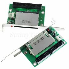 "40Pin 3.5"" IDE Male to Compact Flash CF Adapter Converter with PCI Bracket Panel"