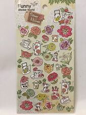 Flowers Kitchen Garden Sticker Scrapbooking Cardmaking floral DIY ArtCraft Phone
