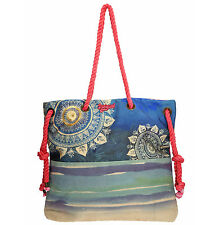 Desigual Shopper Bolso Bolso de playa Bag 2016 nuevo shopping sac natural 61x50c7