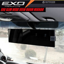 AUTOCOM EXO Slim Wide Wide View Car Auto Rear View Rearview Room Mirror BLACK