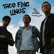 THEE FINE LINES Set You Straight LP . mighty caesars billy childish headcoats