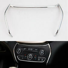 Chrome Interior Air Condition Dashboard Panel Frame Cover for Cherokee 2014 2015