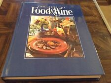 The best of food and wine cookbook