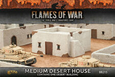 Flames of War Battlefield in a Box BNIB Medium Desert House BB215