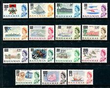 Bahamas 230-244 MNH 1966 Colony badge Princess Margret Hospital Yachting. x20270