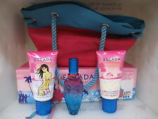 ESCADA PACIFIC PARADISE by ESCADA 3 Piece Set:1.7 EDT Spray + 5.1 Lotion,Gel,Bag