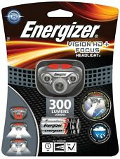 300 LUMENS Energizer Vision HD+ Focus LED Headlamp (Batteries Included) New !!!!