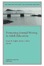 Promoting Journal Writing in Adult Education: New Directions for Adult and Conti