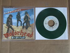 "MOTORHEAD Ace Of Spades / Dirty Love BRONZE 7"" RARE GREEN VINYL JAPANESE ISSUE"