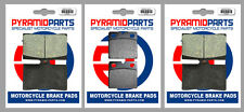 Ducati 888 Roche Replica 1991 Front & Rear Brake Pads Full Set (3 Pairs)