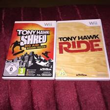 TONY HAWKS SHRED & RIDE  Nintendo Wii