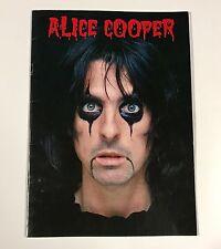 Vintage Alice Cooper 1979 Madhouse Rock Concert Tour Program Book VF Nice!