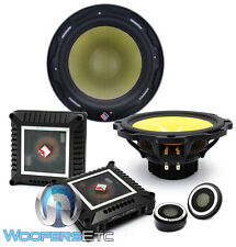 "ROCKFORD FOSGATE POWER T3652-S 6.5"" COMPONENT SPEAKERS LIQUID CRYSTAL TWEETERS"