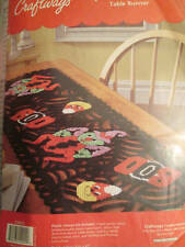 Spooky Spiders Table Runner Plastic Canvas Kit -12.75x47 Inches -Craftways
