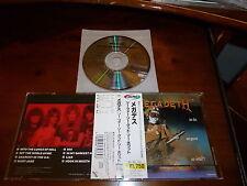 Megadeth / So Far, So Good...So What! JAPAN TOCP-3028 *A