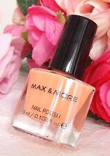 Max & More Nail Polish -Apricot- 3ml New