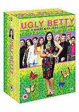 UGLY BETTY the complete series 1 to 4 box set. Every episode. New sealed DVD