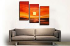 NEW - MODERN ABSTRACT HUGE WALL ART OIL PAINTING ON CANVAS (No frame)