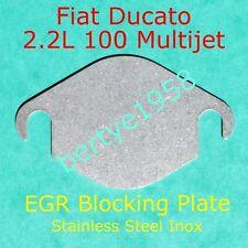 EGR Valve blanking plate 2.2L Fiat Ducato100 Multijet 2,198cc Stainless Block