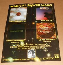 Magical Power Mako Poster Original Promo 22x17 RARE Psychedelic