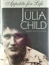 APPETITE FOR LIFE THE BIOGRAPHY OF JULIA CHILD BY NOEL FITCH  *INSCRIBED*FIRST*