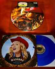 "MADONNA 2x LTD EU PRESS 12"" Lot MUSIC Picture Disc & DON'T TELL ME Blue Vinyl"