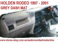 DASH MAT, DASHMAT, DASHBOARD COVER FIT HOLDEN RODEO 1997 - 2001, GREY
