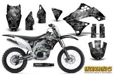 KAWASAKI KXF450 KX450F 09-11 GRAPHICS KIT CREATORX DECALS INFERNO S