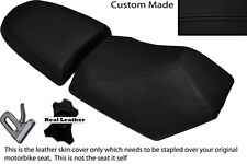 BLACK STITCH CUSTOM FITS BAOTIAN FALCON 50 2 PIECE DUAL SEATS COVERS