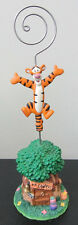 RARE Disney Tigger Winnie the Pooh Note Photo Holder Figure Figurine Statue