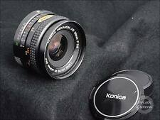 2993-Konica Hexanon AR 28mm f3.5 Wide Angle Lens