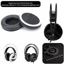 Replacement Ear Pad Cushions STEELSERIES Siberia V1 V2 V3 Gaming Headphones A14