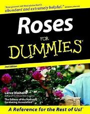 Lance Walheim - Roses For Dummies 2e (2000) - Used - Trade Paper (Paperback