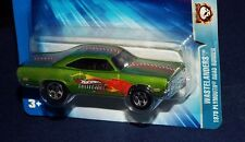 Hot Wheels 2004 Wastelanders Series 1970 Plymouth Road Runner Kar Keepers Green