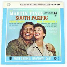 """South Pacific Soundtrack Broadway Rodgers Hammerstein Record Vinyl LP 12"""" OS2040"""