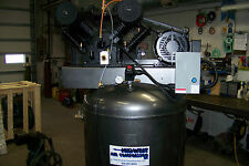 Chicago Pneumatic  Air compressor 7.5 hp 1 ph. two stage, Cast iron NEW other