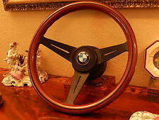 "BMW 1600 1800 2002 Nardi deep dish 3"" Wood Steering Wheel NEW"
