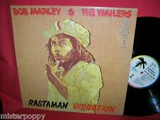 BOB MARLEY and THE WAILERS Rastaman Vibration 1975 ITALY MINT-